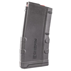 Amend2 Mod-2 AR-15 20 Round Magazine .223 Remington/5.56 NATO Anti-tilt Super Follower Stainless Steel Spring Polymer Gray