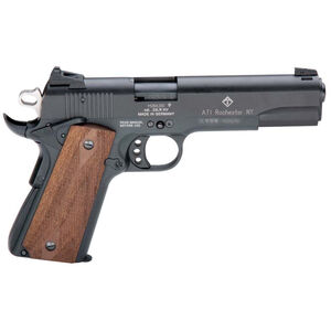 "American Tactical Imports GSG 1911 Semi Automatic Pistol 22 LR 5"" Barrel 10 Rounds Alloy Frame Black"