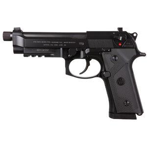 "Beretta M9A3 Type F 9mm Luger Semi Auto Pistol 5"" Threaded Barrel 10 Round Magazine Tritium Night Sights Ambidextrous Safety/Decocker Accessory Rail Matte Black"