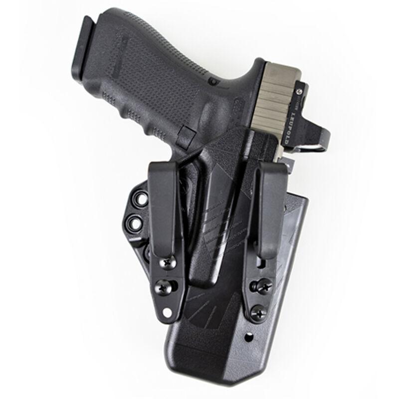 Raven Concealment Eidolon GLOCK 19 and 26 IWB Holster Right Hand Black Full Kit