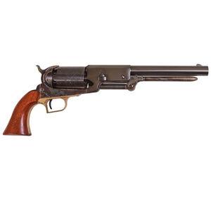 "Cimarron Walker 1847 Black Powder Percussion Revolver .44 Caliber 9"" Barrel 6 Rounds Case Hardened Frame Walnut Grips Blued CA020"
