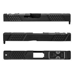 Grey Ghost Precision GGP Stripped Slide fits Glock 17 Gen 3 V2 Slide Pattern RMR Cutout Black Nitride Finish