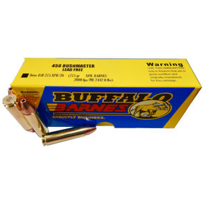 Buffalo Bore .450 Bushmaster Ammunition 20 Rounds XPB 275 Grains