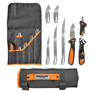 Havalon Talon Hunt Interchangeable Fixed Blade Kit with Four Blades and Nylon Roll Pack
