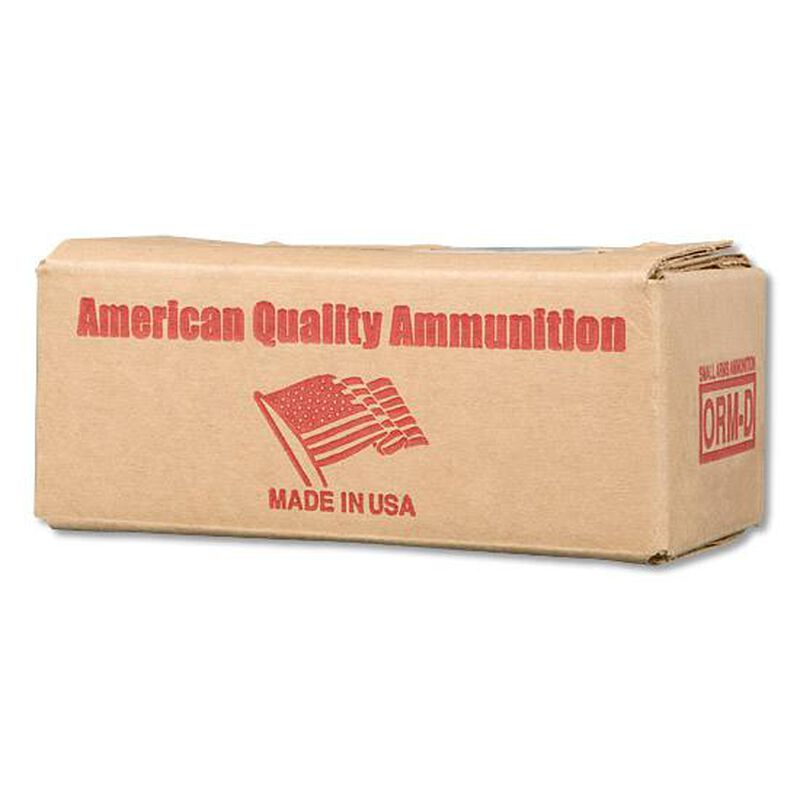 American Quality 9mm Ammunition 250 Rounds, FMJ New Brass, 115 Grains