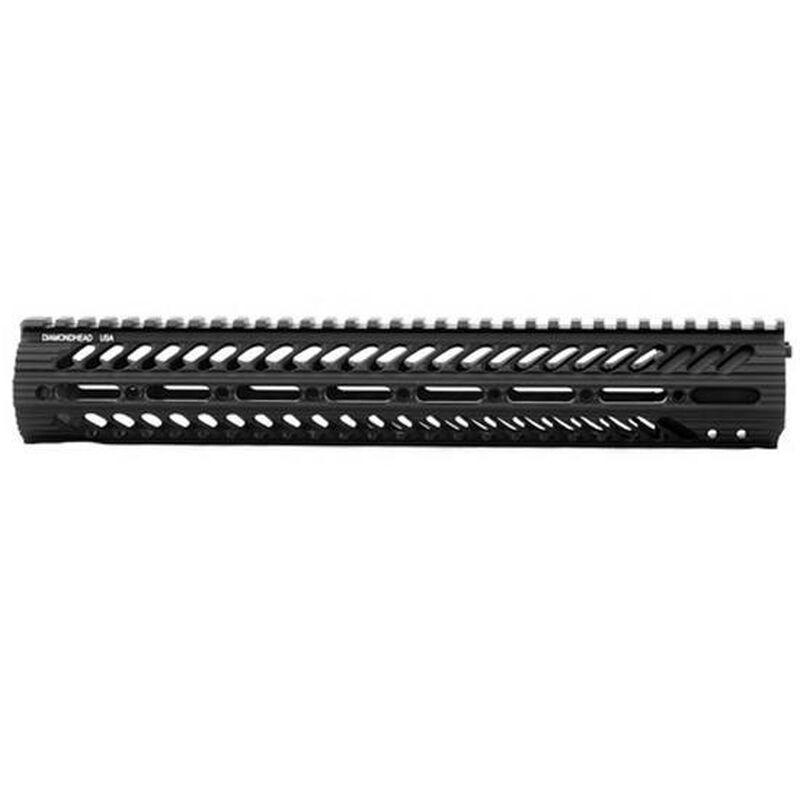 "Diamondhead VRS X Free Float Handguard 15"" Picatinny Rail Aluminum Black"
