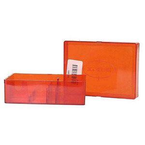 Lee Precision Two Die Storage Box Holds 2 Dies Hard Plastic Red 90078