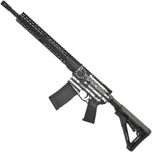 "Stag Arms STAG-15 'We The People' AR-15 Semi Auto Rifle 5.56 NATO 16"" Barrel 30 Rounds 13.5"" Freefloat M-LOK SL Handguard Magpul CTR Stock Black"