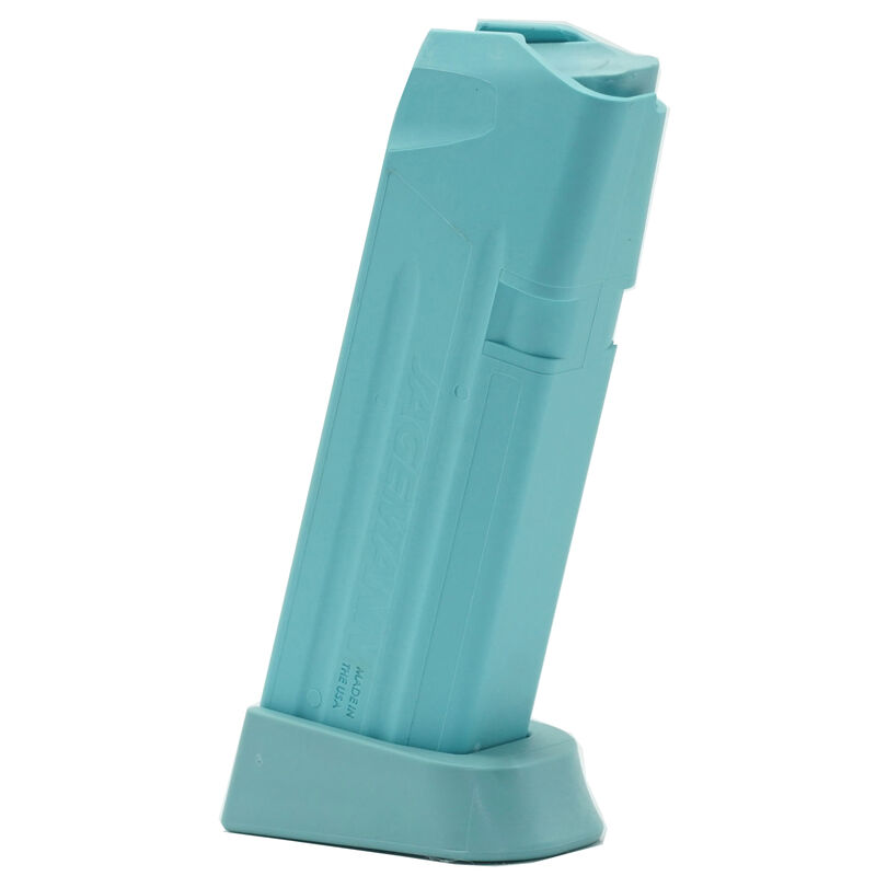 Jagemann Sporting Group GLOCK 19 Compact Size Extended Magazine 9mm Luger 15 Rounds Capacity Polymer Construction Tiffany Blue Finish