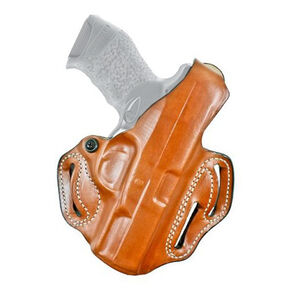 "DeSantis Thumb Break Scabbard GLOCK 17, 22, 31 OWB 1.75"" Belt Right Hand Leather Tan"