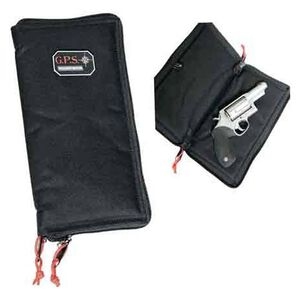 "G Outdoors G.P.S. Pistol Sleeve Large 12"" Nylon Black GPS-1265PS"