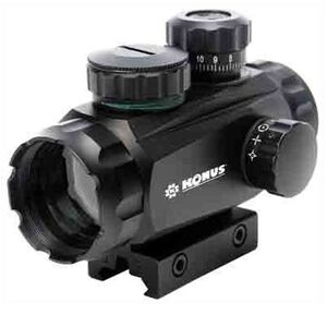 Konus Sight-Pro Tr Multi Reticle Sight Red/Green Dot With 4 Interchangeable Reticle Patterns &Tactical Turrets