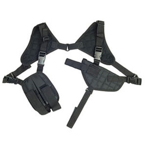 NcSTAR Ambidextrous Horizontal Shoulder Holster Black