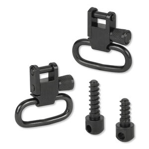 "Sun Optics Sling Swivel Set With Studs 1"" Steel Black 10266"
