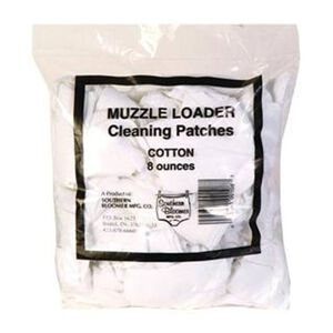 Southern Bloomer Muzzleloader Cleaning Patches .45 - .58 Caliber 225 Pack