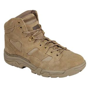 """5.11 Tactical Taclite 6"""" Boots Nylon/Suede Size 10 Wide Coyote 12030"""