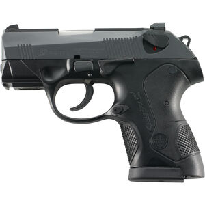 "Beretta PX4 Sub Compact Semi Automatic Pistol 9mm Luger 3"" Barrel 13 Rounds Polymer Frame Black Finish GJXS9F21"