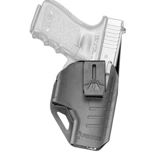 Fobus GLC C Series Holster for GLOCK 17/19/26/22/23/27/31/32/33 Right Hand IWB J Clip Polymer Black