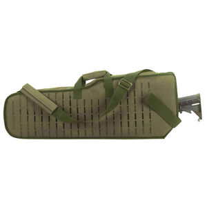 Voodoo Tactical Scoped Rifle Scabbard Nylon OD Green