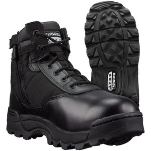 "Original S.W.A.T. Men's Classic 6"" Side-Zip Boots 9.5 Black"