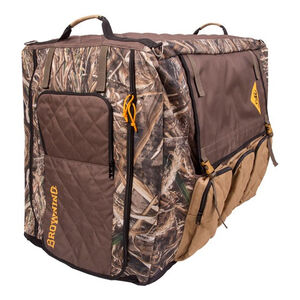 """Browning X-Large Insulated Dog Crate Cover 39""""L X 22""""W X 29""""H Water Resistant 900d Fabric Max-5 Camouflage"""