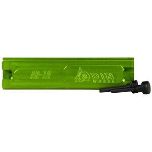 Odin Works AR-15 AR-10 Upper Receiver Vise Block Aluminum Green