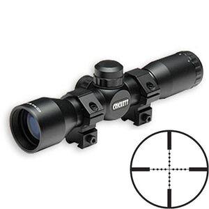 Keystone Sporting Arms 4x32mm Chipmunk Crickett Rifles Rimfire Riflescope Mil-Dot Reticle 1/4 MOA Black Finish