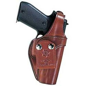 """Pistol Pocket Inside-the-Pants Holster S&W K-Frame 2-1/2"""" to 3"""" Barrels Size 2 Right Hand Leather Tan"""