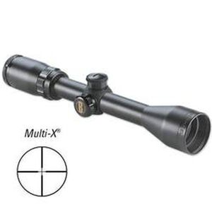 "Bushnell Banner 3-9x40 Riflescope Multi-X Reticle 1"" Tube 1/4 MOA Matte Black 613947"