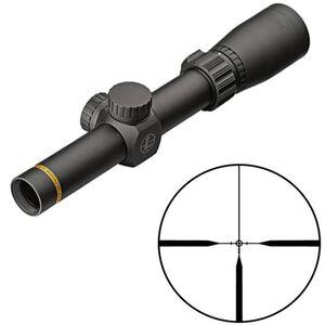 "Leupold VX-Freedom 1.5-4x20 Riflescope Pig Plex Non-Illuminated Reticle 1"" Tube .25 MOA Adjustments Finger Click Turrets Second Focal Plane Matte Black Finish"