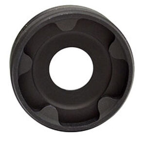 RUGGED FRONT CAP 9MMRugged Suppressors Front End Cap for Obsidian 45 9mm Caliber Diameter Steel Matte Black