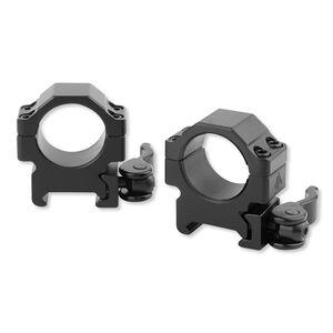 Leapers UTG Low Profile Picatinny QD Rings 18mm Wide Matte Black RQ2W1104