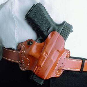DeSantis Gunhide Mini Slide Belt Holster For GLOCK 17/22 Right Hand Leather Tan 086TAE1Z0