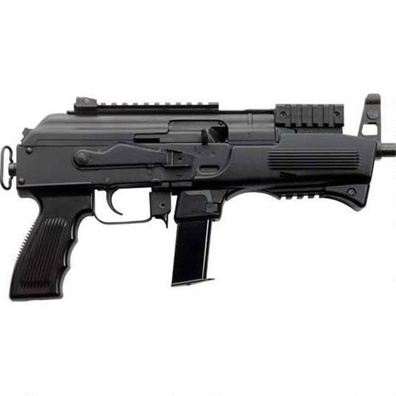 "Charles Daly AK-9 9mm Luger Semi Auto Pistol 6.3"" Barrel 10 Rounds Polymer Handguard Steel Construction Black"