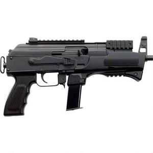 "Charles Daly AK-9 9mm Luger Semi Auto Pistol 6.3"" Barrel 10 Rounds Polymer Handguard Steel Construction Black"