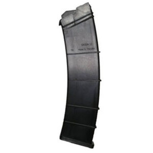 "SGM Tactical SAIGA Shotgun 12 Round Magazine 12 Gauge 2-3/4"" Shells Only Polymer Matte Black"