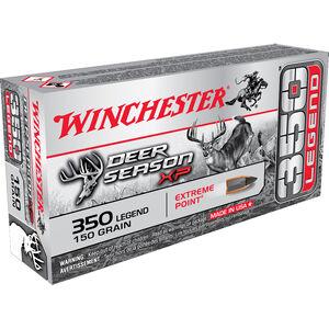 Winchester Deer Season XP 350 Legend Ammunition 20 Rounds Extreme Point 150 Grain 2325 fps
