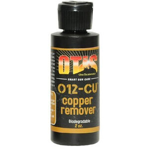 Otis O12 Copper Remover Gun Cleaning Solution Two Ounce Liquid Squeeze Bottle RW-902-COP