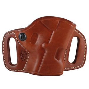 """El Paso Saddlery High Slide for S&W M&P 9/40 4"""", Right/Russet"""