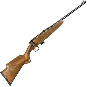 "Keystone Arms Model 722 Crickett Compact Sporter Bolt Action Rifle .22 LR 16.25"" Barrel 7 Rounds Walnut Stock Blued Barrel"