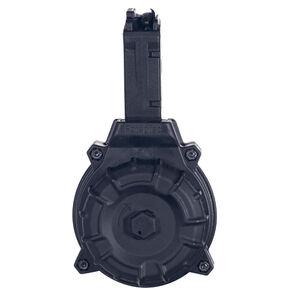 ProMag Sig Sauer MPX 9mm Luger Drum Magazine 30 Rounds Polymer Black