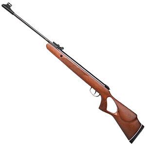 "Diana Two-Fifty .177 Caliber Break Barrel Air Rifle 16.5"" Barrel 935 fps Single-Shot F/O Sights Thumbhole Stock Blued Finish"