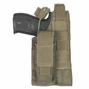 Fox Outdoor MOLLE Holster Large Frame Autos Ambidextrous Nylon Olive Drab Green 58-580