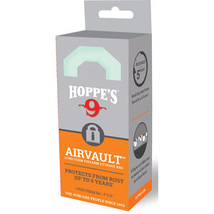 """Hoppe's AirVault Long Term Firearm Storage Bag 9""""x12"""" Rust Protection Up to 5 Years"""