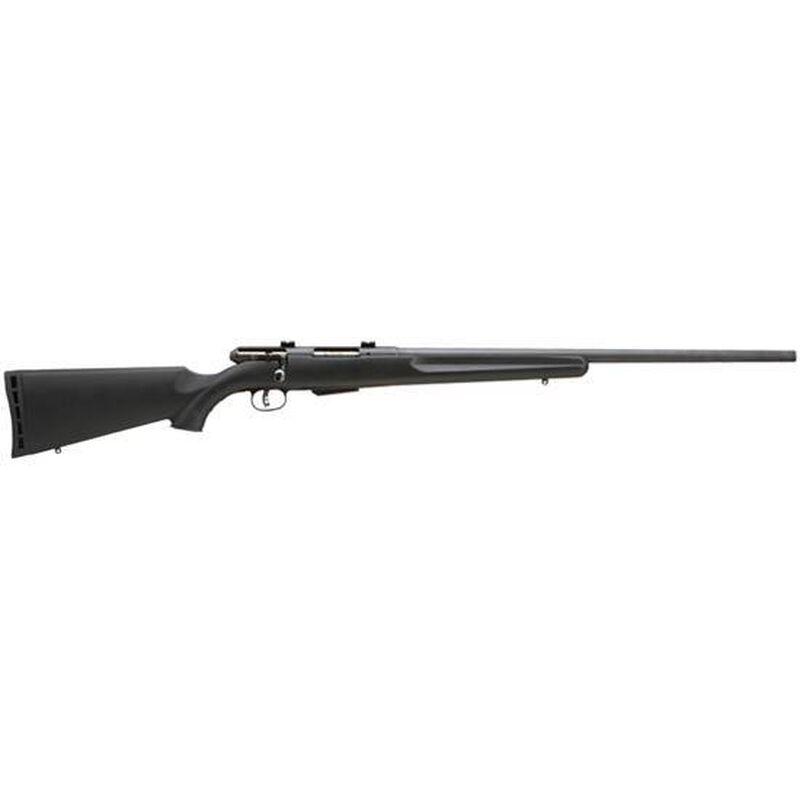 "Savage Model 25 Walking Varminter Bolt Action Rifle .222 Rem 22"" Barrel 4 Rounds Synthetic Stock Black Finish 19154"
