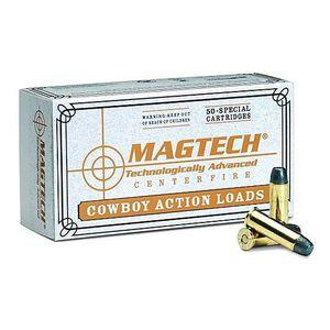 Magtech .38 Special Ammunition 50 Rounds LFN 125 Grains 38U