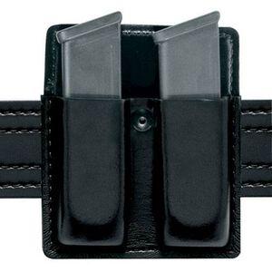 Safariland Model 75 Double Magazine Pouch without Flaps GLOCK 17, 19, 22, 23, 34, 35 Ambidextrous Hi-Gloss Finish Black 75-83-9