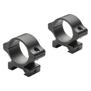 Leupold Rifleman Scope Rings Weaver or Picatinny Mount 30mm Medium Rings Aluminum Matte Black 2 Rings