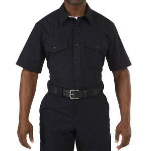 5.11 Tactical Men's Short Sleeve Stryke Class A PDU Shirt Extra Large Regular Midnight Navy 71037