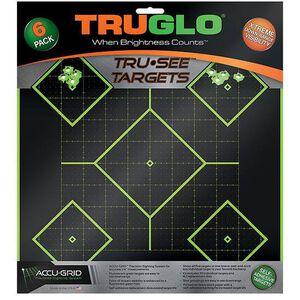 "TRUGLO TRU-SEE Splatter Target Diamond 12""x12"" 12 Pack TG14A12"